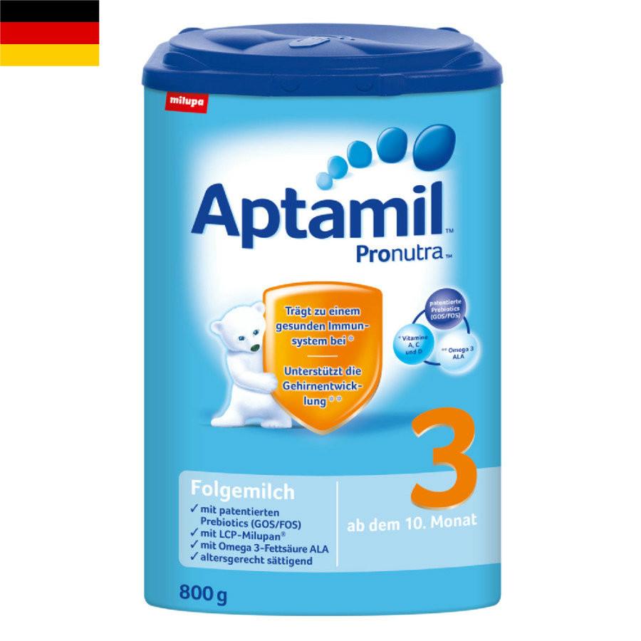 【4罐装】德国原版爱他美Aptamil婴幼儿配方奶粉3段(10-12个月)