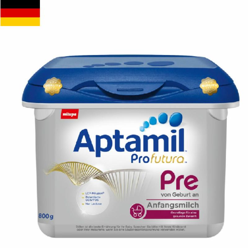 【8罐装】德国原版爱他美Aptamil婴幼儿配方奶粉白金版Pre段(0-6个月)