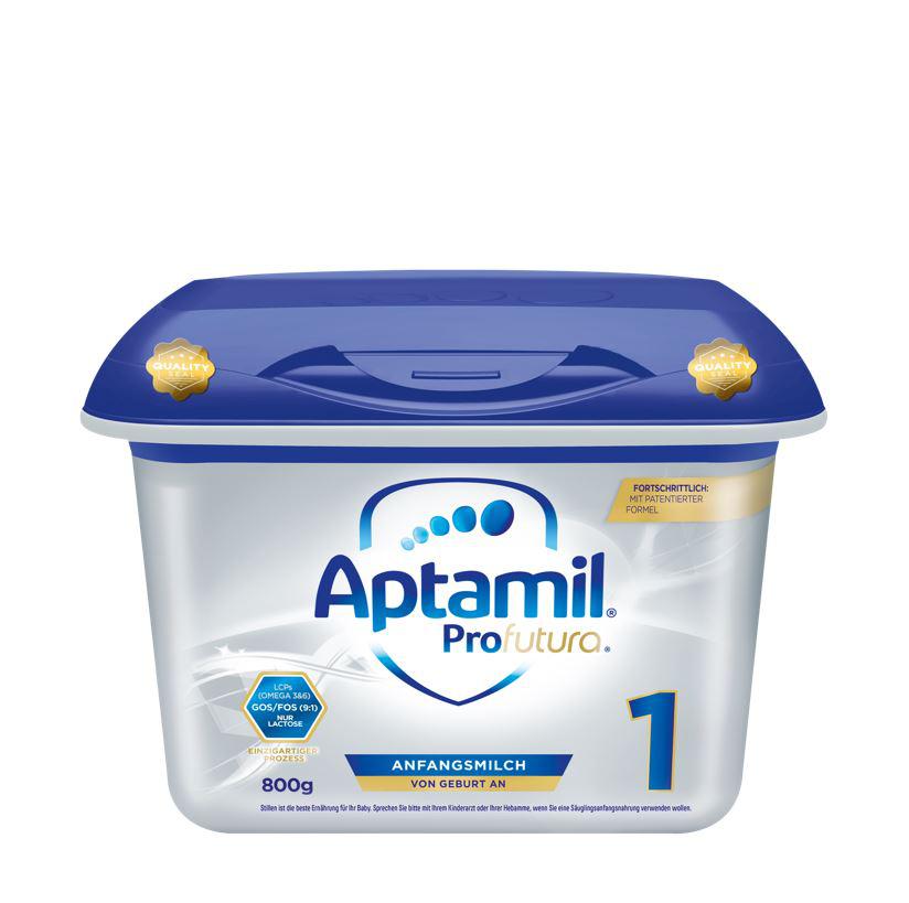 【4罐装】德国新版爱他美Aptamil婴幼儿配方奶粉白金版1段(0-6个月)