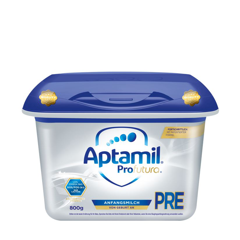 【4罐装】德国新版爱他美Aptamil婴幼儿配方奶粉白金版Pre段(0-6个月)