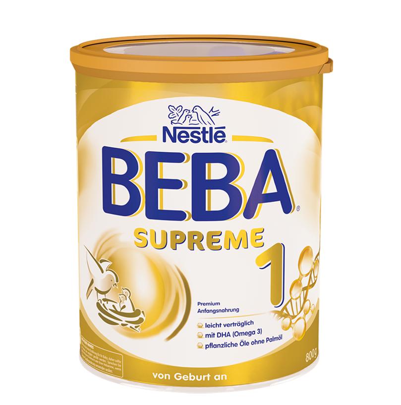 [6罐装]德国原版雀巢BEBASUPREME婴儿成长配方奶粉1段