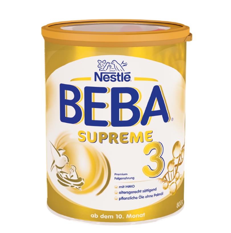 [6罐装]德国原版雀巢BEBASUPREME婴儿成长配方奶粉3段