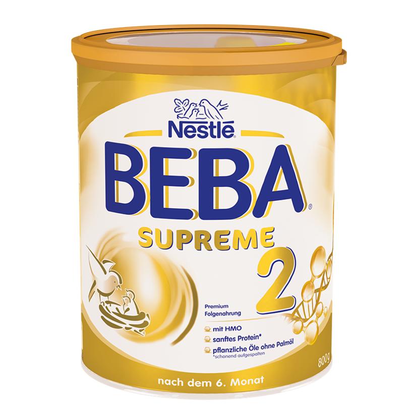 [6罐装]德国原版雀巢BEBASUPREME婴儿成长配方奶粉2段