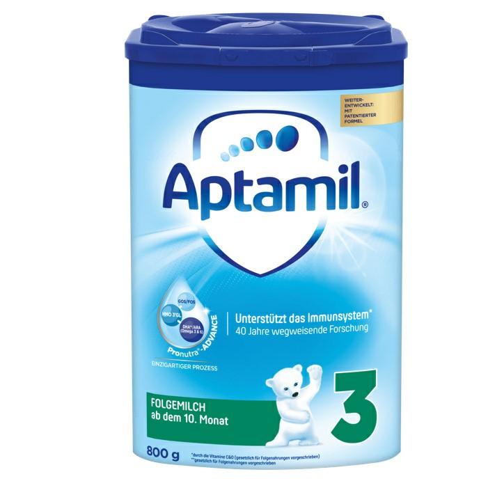 【6罐装】新一代德国爱他美Aptamil婴幼儿配方奶粉3段(10-12个月)