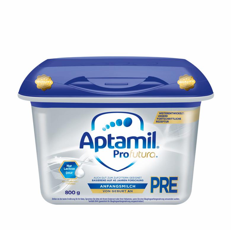 【8罐装】新一代德国爱他美Aptamil婴幼儿配方奶粉白金版Pre段(0-6个月)