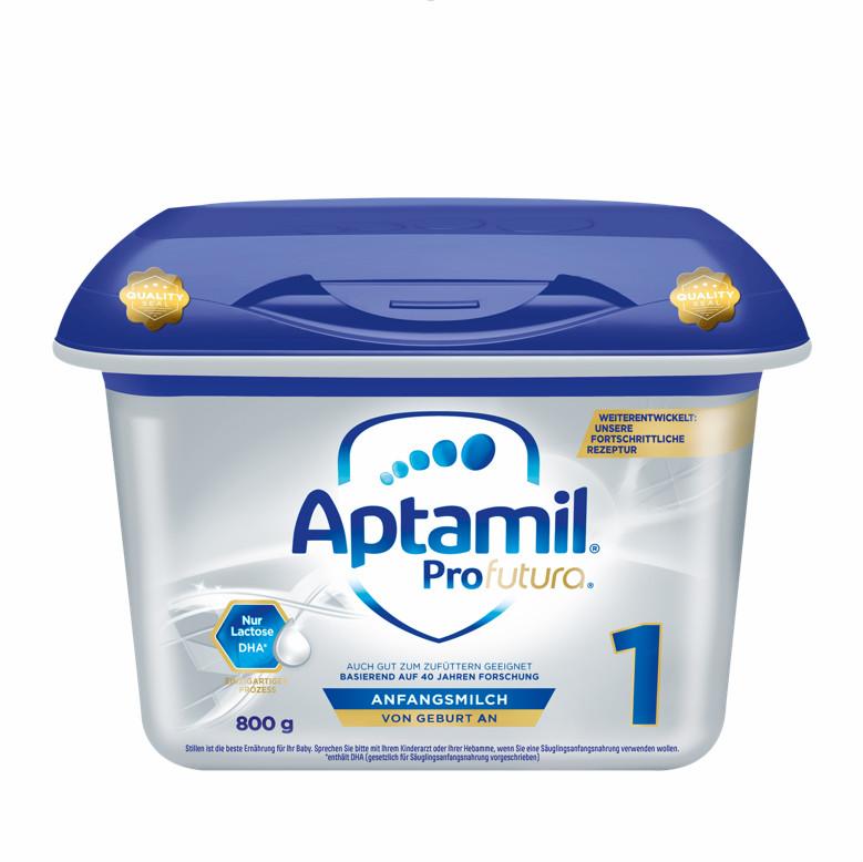 【4罐装】新一代德国爱他美Aptamil婴幼儿配方奶粉白金版1段(0-6个月)