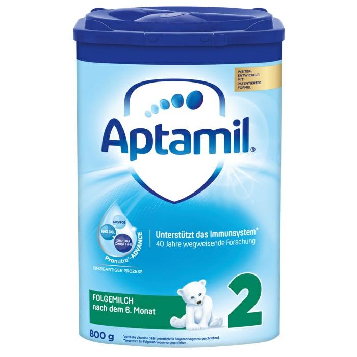 【4罐装】新一代德国爱他美Aptamil婴幼儿配方奶粉2段(6-10个月)