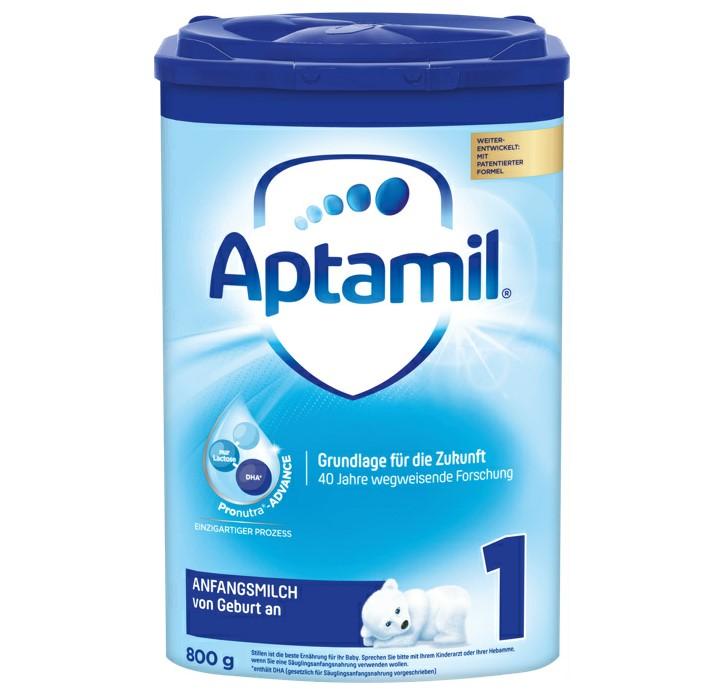 【4罐装】新一代德国爱他美Aptamil婴幼儿配方奶粉1段(0-6个月)