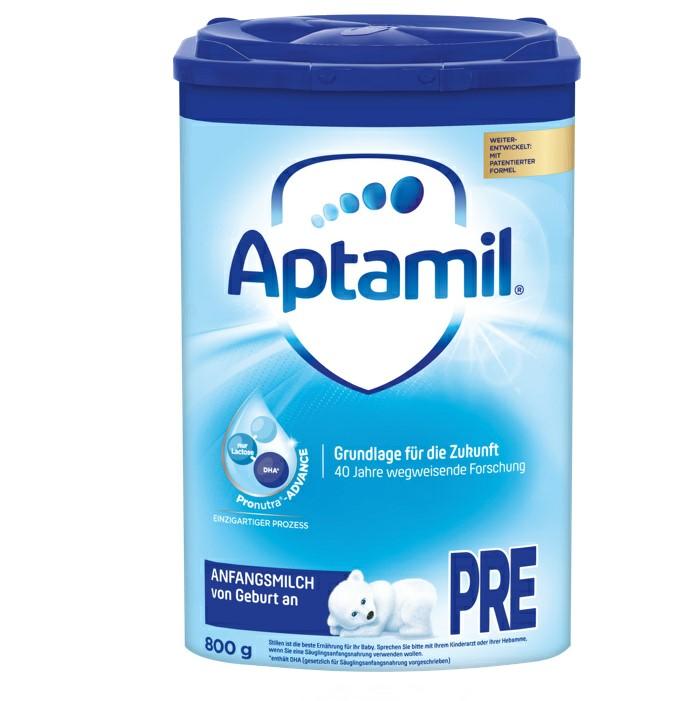 【4罐装】新一代德国爱他美Aptamil婴幼儿配方奶粉Pre段(0-6个月)