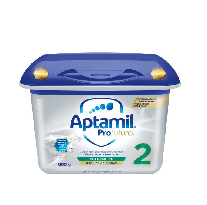 【4罐装】新一代德国爱他美Aptamil婴幼儿配方奶粉白金版2段(6个月以上)