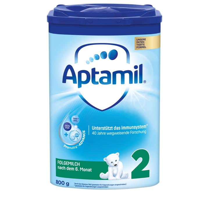 【6罐装】新一代德国爱他美Aptamil婴幼儿配方奶粉2段(6-10个月)