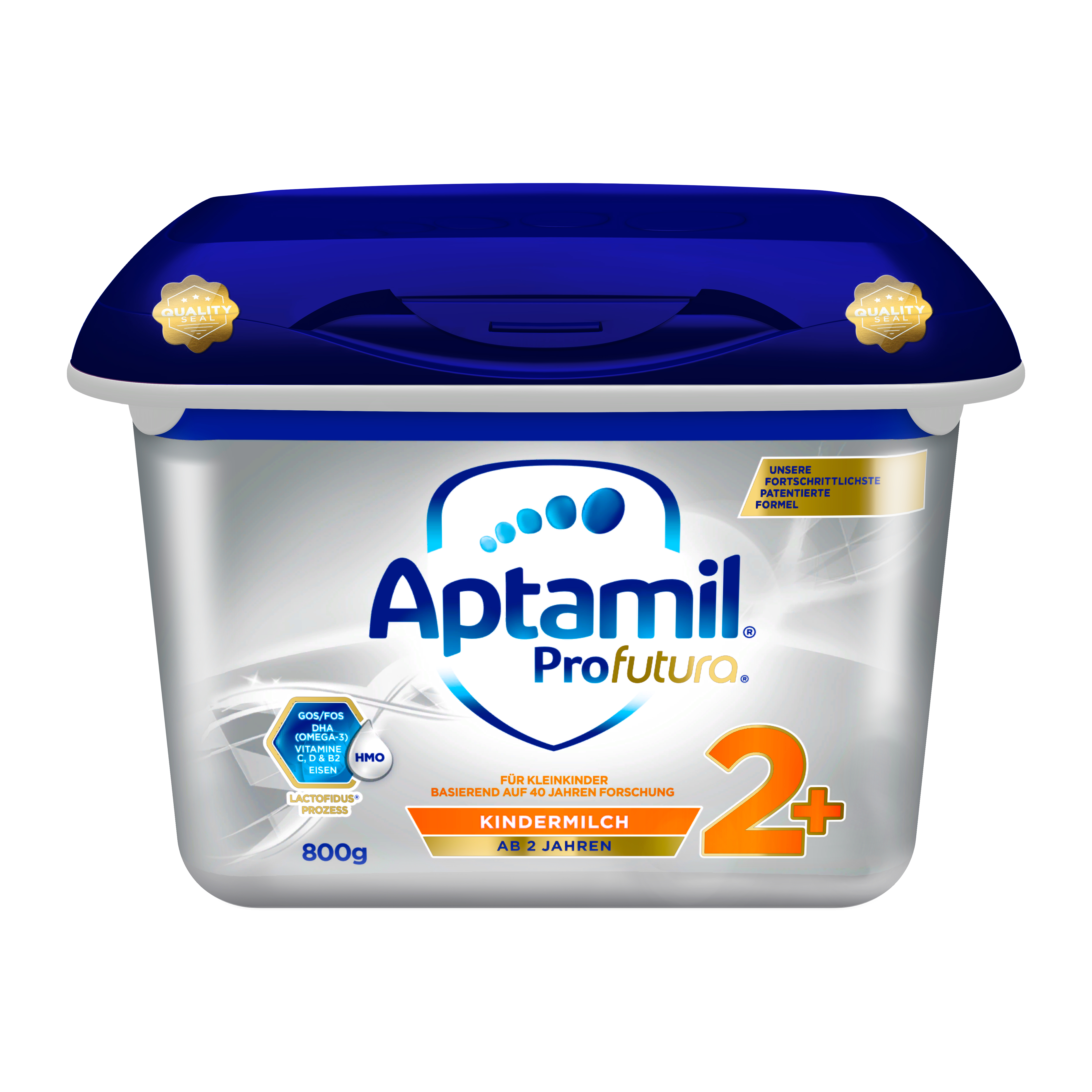 【4罐装】爱他美Aptamil婴幼儿配方奶粉白金版2+段