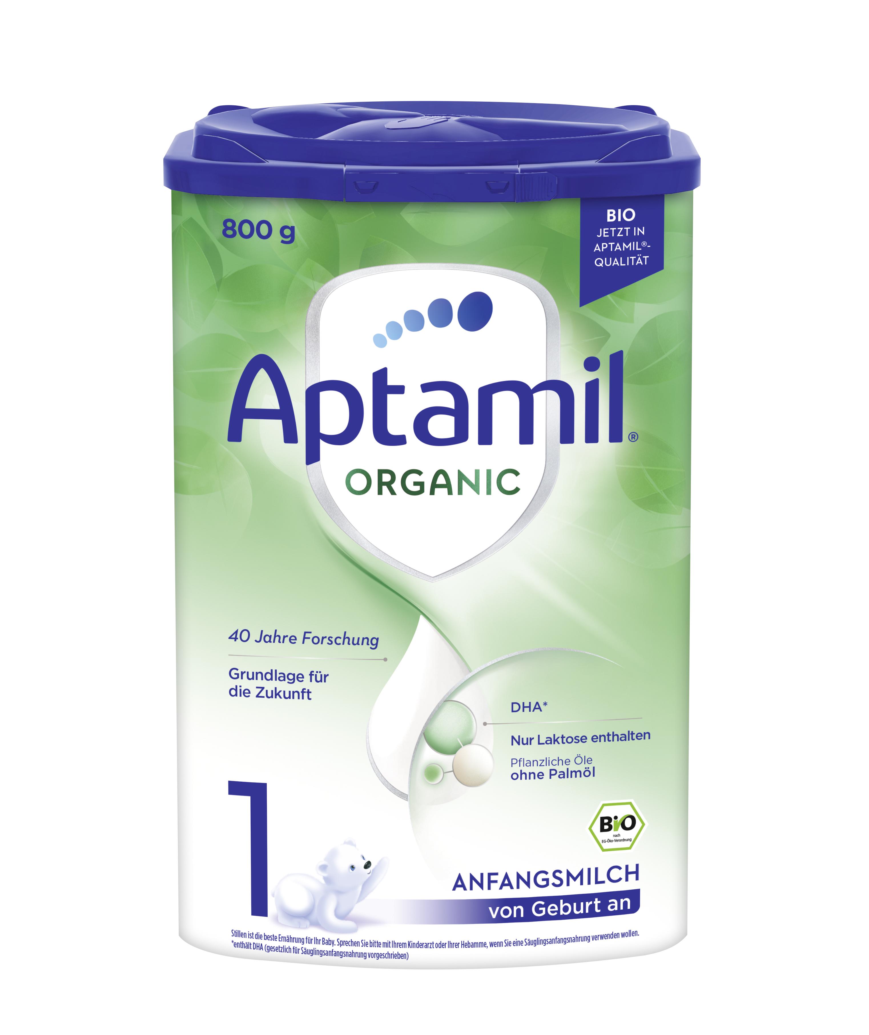 [6罐装]德国爱他美Aptamil婴幼儿配方奶粉有机系列1段(0-6个月)