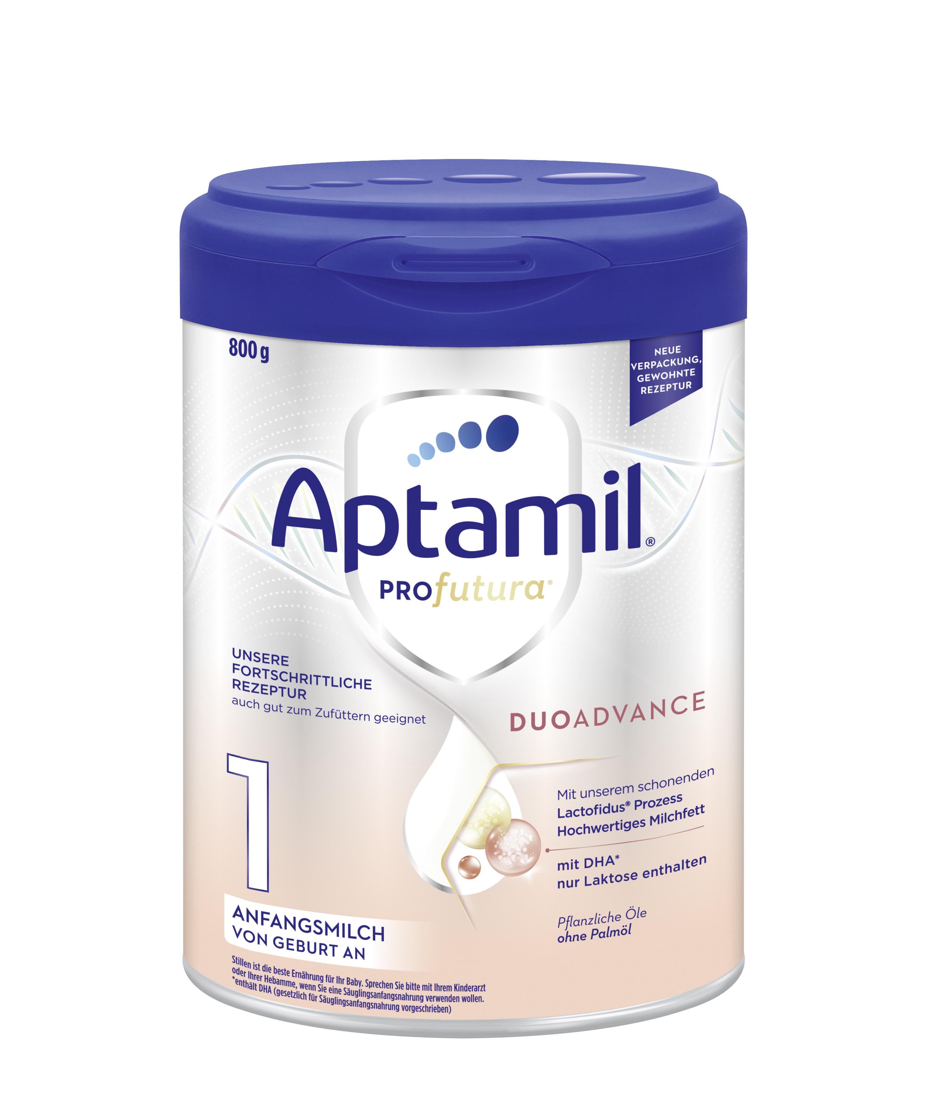 [4罐装]新版德国爱他美Aptamil婴幼儿配方奶粉白金版1段(0-6个月)