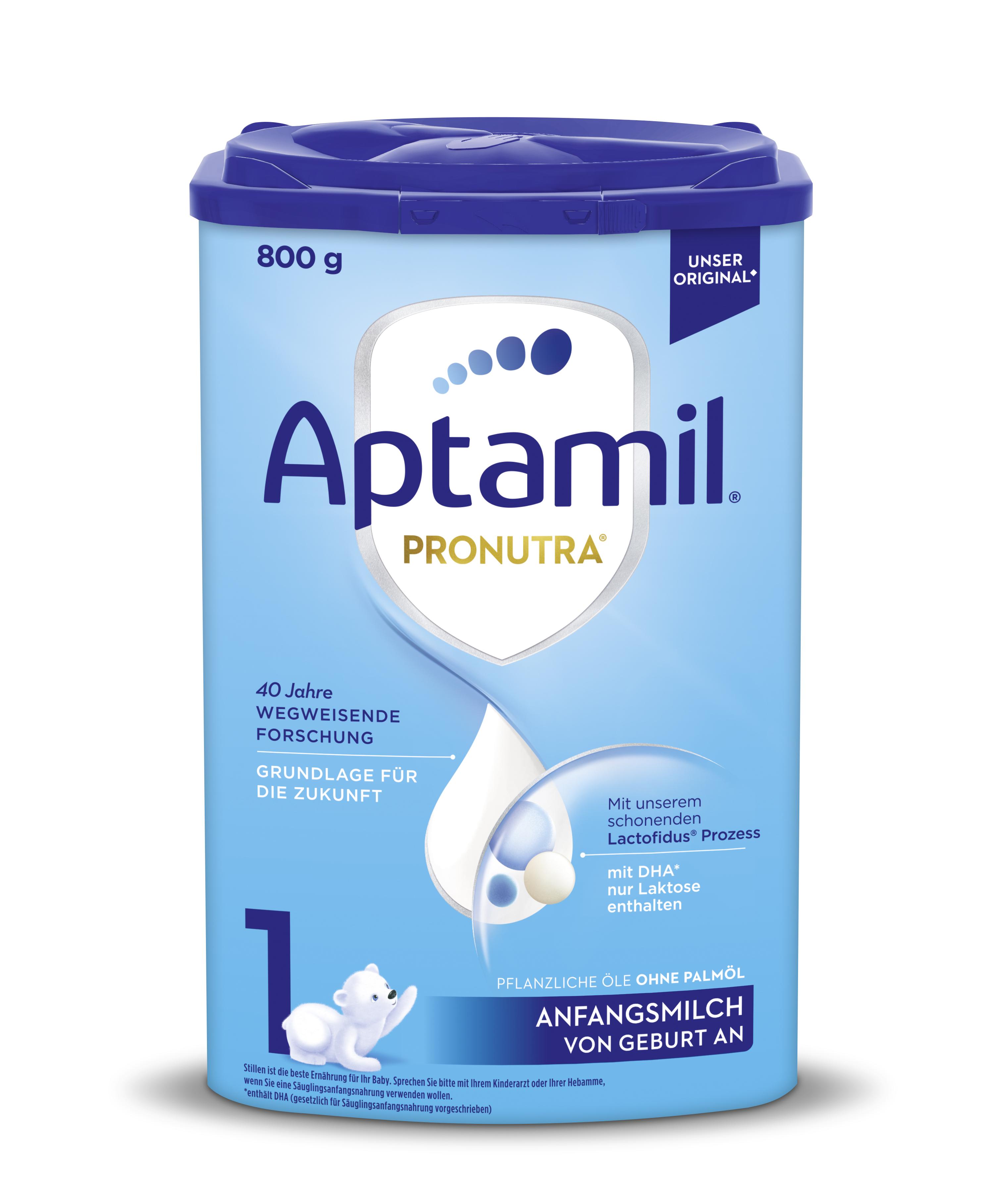 【6罐装】新一代德国爱他美Aptamil婴幼儿配方奶粉1段(0-6个月)